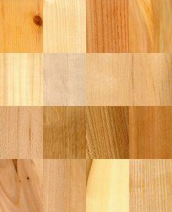Welke houtsoorten bestaan er?